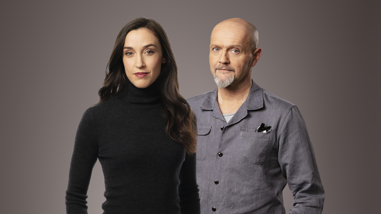 Hanna Sahlberg och Lasse Johansson