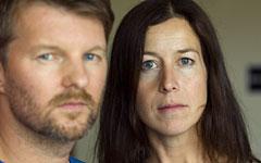 Ann Ringstrand och Stefan Söderberg, personerna bakom designföretaget Hope. Foto: Scanpix