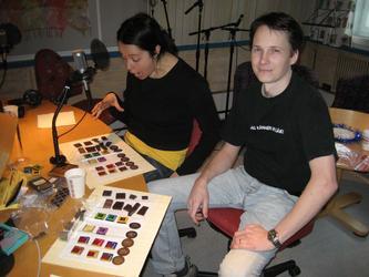 Jennie Mörk och Stefan Lindkvist