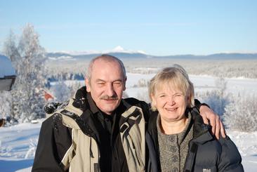 Linnea och Nigel Tarr