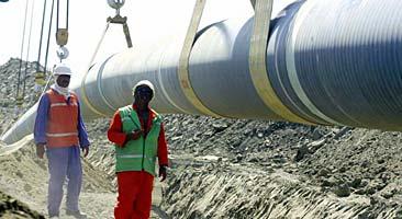 Pipelinen från Baku till Turkiet är nu färdigbyggd. Foto: Riza Ozel/PrB.
