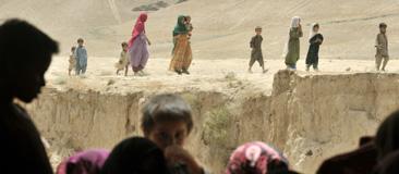 Civila i Afghanistan. Foto: Bela Szandelszky/Scanpix.