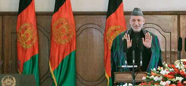 Afghanistans president Hamid Karzai. Foto: Anja Niedringhaus/Scanpix.