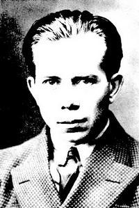 En ung Ivar Lo-Johansson (Foto: SVT Bild)