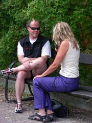 Mikael Strandberg intervjuas för bonusmaterialet.