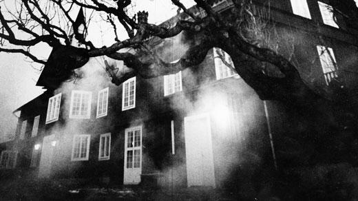 Spöklikt hus. Foto: Svt