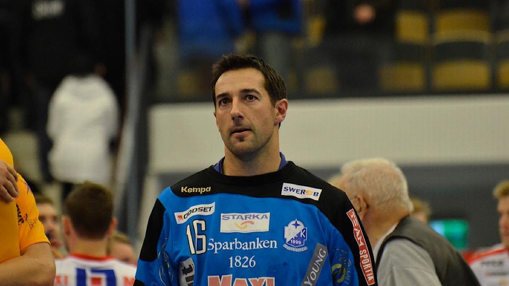 IFK Kristianstads Jesper Larsson. Foto: Rickard Sturesson/Sveriges Radio