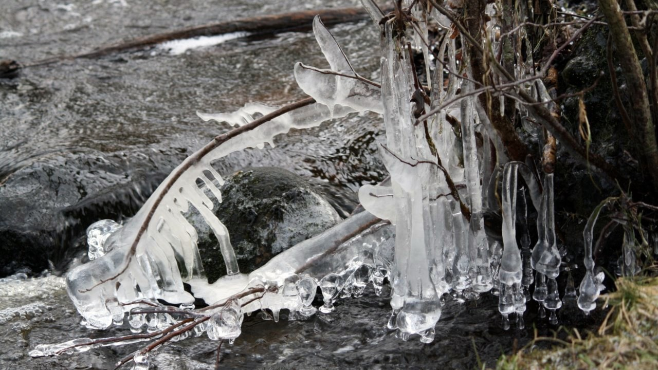 I närkontakt med isen