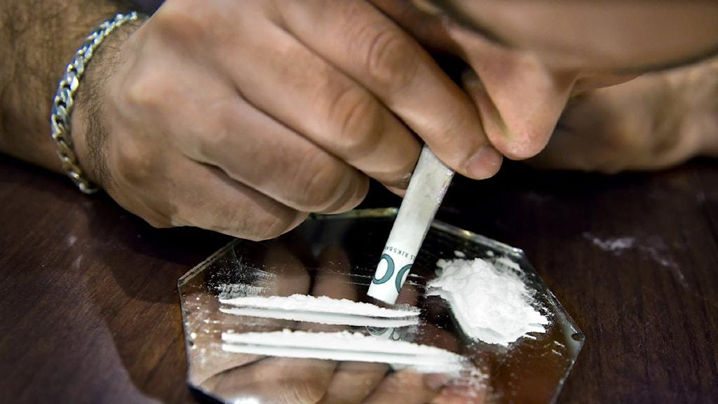 dusch fnask narkotika i Stockholm