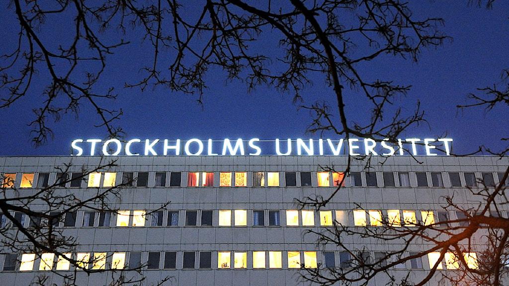 Löneavtal klart för statligt anställda, bl a vid Stockholms universitet. Foto: Anders Wiklund/Scanpix.