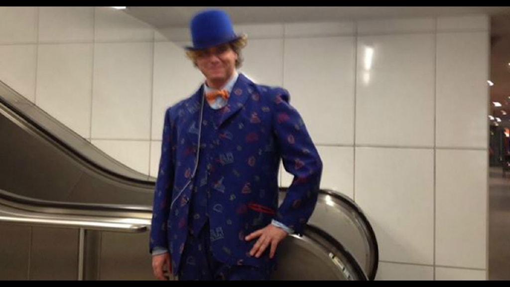 förbjuden ukrainare kostym i Stockholm