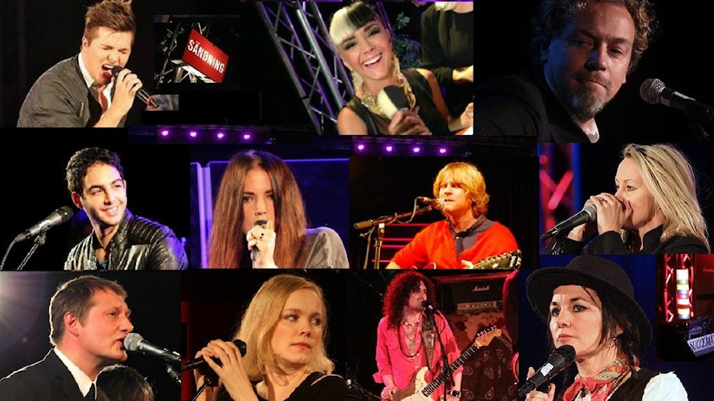 Artisterna som firar Musikplats Stockholm den 23 maj. Foto: Sveriges Radio