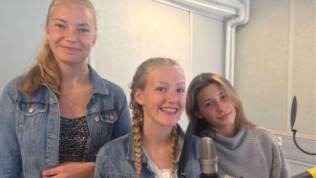 Alma Jöneryd, Emma Levenrot, Evgenia Antoniadou