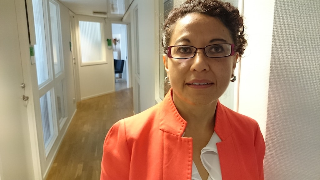 Veronica Morales, enhetschef på Sociala resursförvaltningen i Göteborg. FOTO: Ivar Huntington