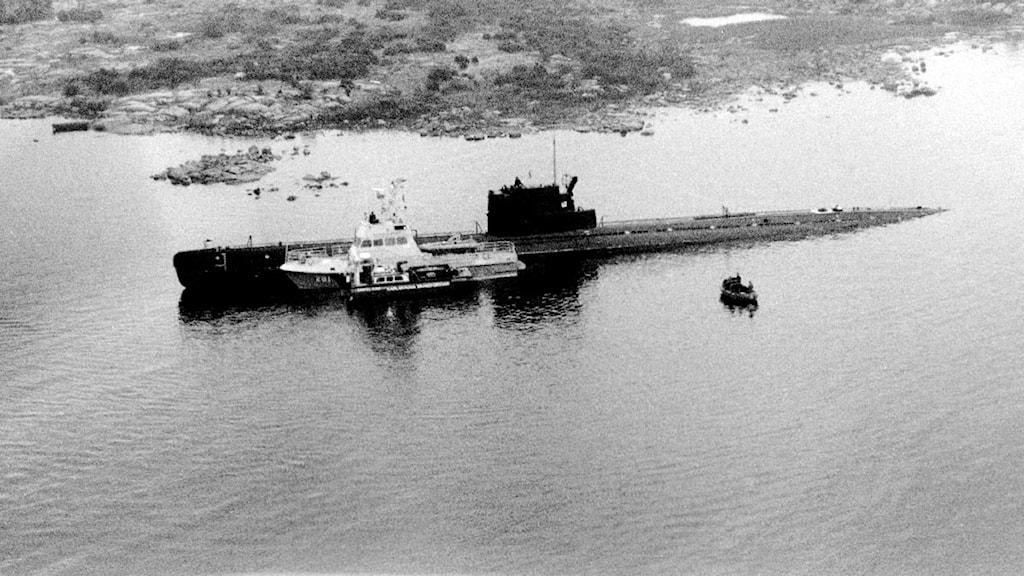 ubåt på grund