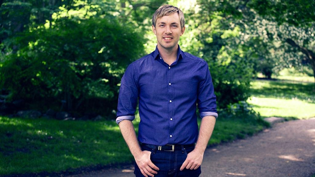 Socialdemokraten Magnus Manhammar. Foto: Sveriges Radio.