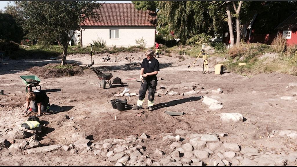 Utgrävning Kristianopel