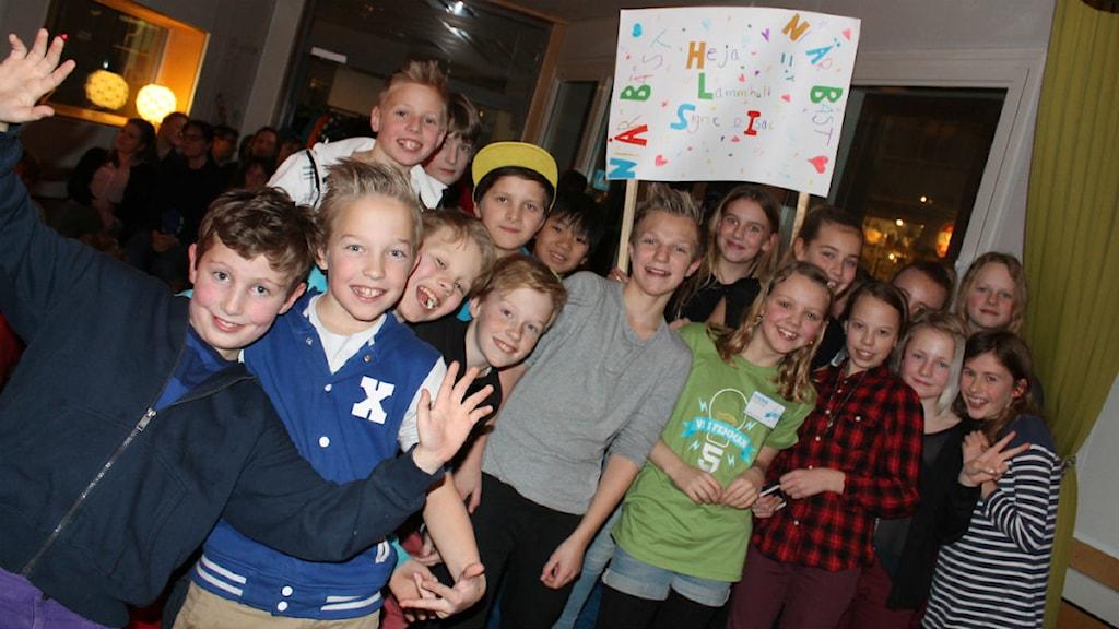 Vi i Femman Furutåskolan vann semifinalen mot Lammhults skola P4 Kronoberg Sveriges Radio