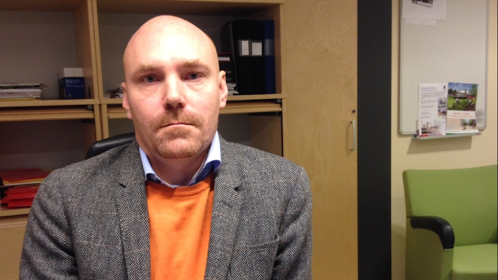 Jonas Jönsson, socialchef i Ljungby kommun. Foto: Per Brolléus