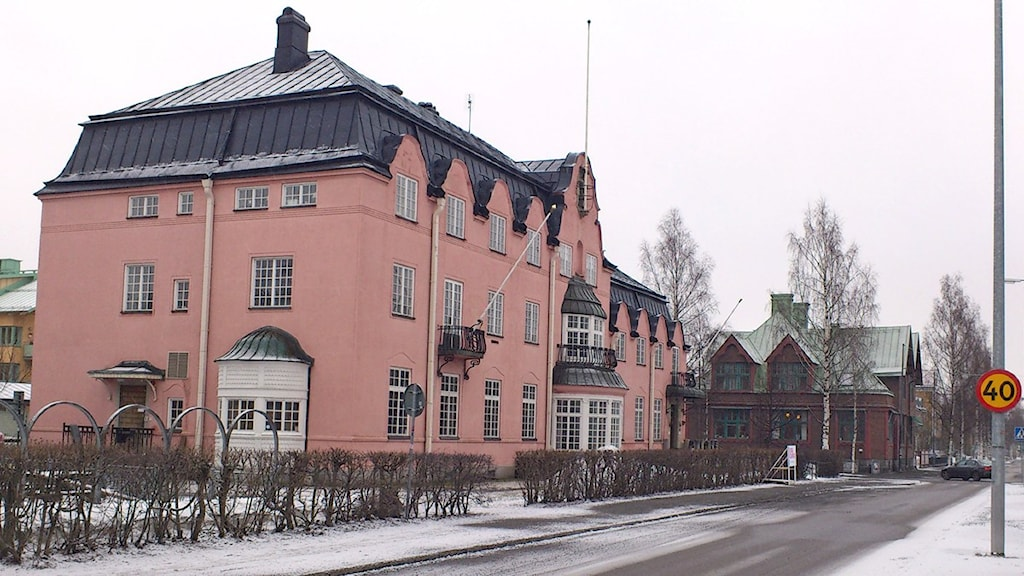 Scharinska villan i Umeå. Foto: Tommy Engman/SR.