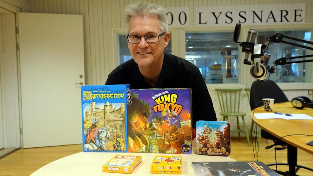 Erik på Sveriges Radio Västerbotten