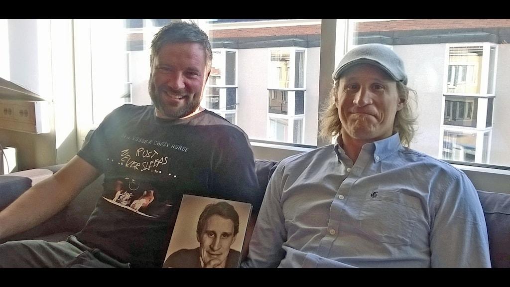 Jonas Fahlman och Jonathan Hedström Foto Åza Meijer SR
