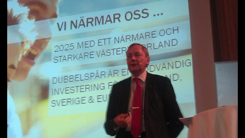 Bo Källstrand. Landshövding i Västernorrland. Foto:Christer Suneson