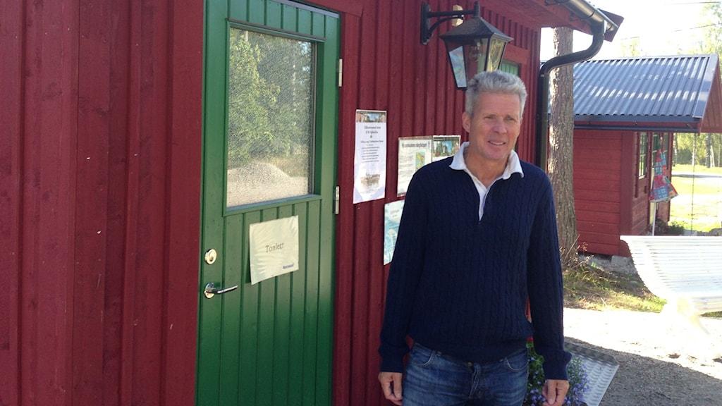 Ulf Broman projektledare för Kustvägen, Sundsvall. Foto: Christer Suneson