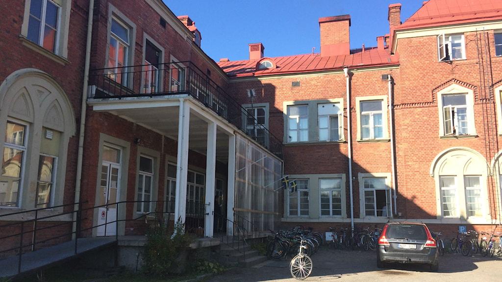 Asylboende i Frånö i Kramfors kommun. Foto: Ulla Öhman / Sveriges Radio