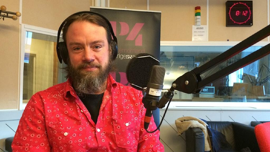 Christer Falk, ny kultur- och fritidsdirektör i Sundsvall. Foto: TullaMaja Fogelbger, Sveriges Radio