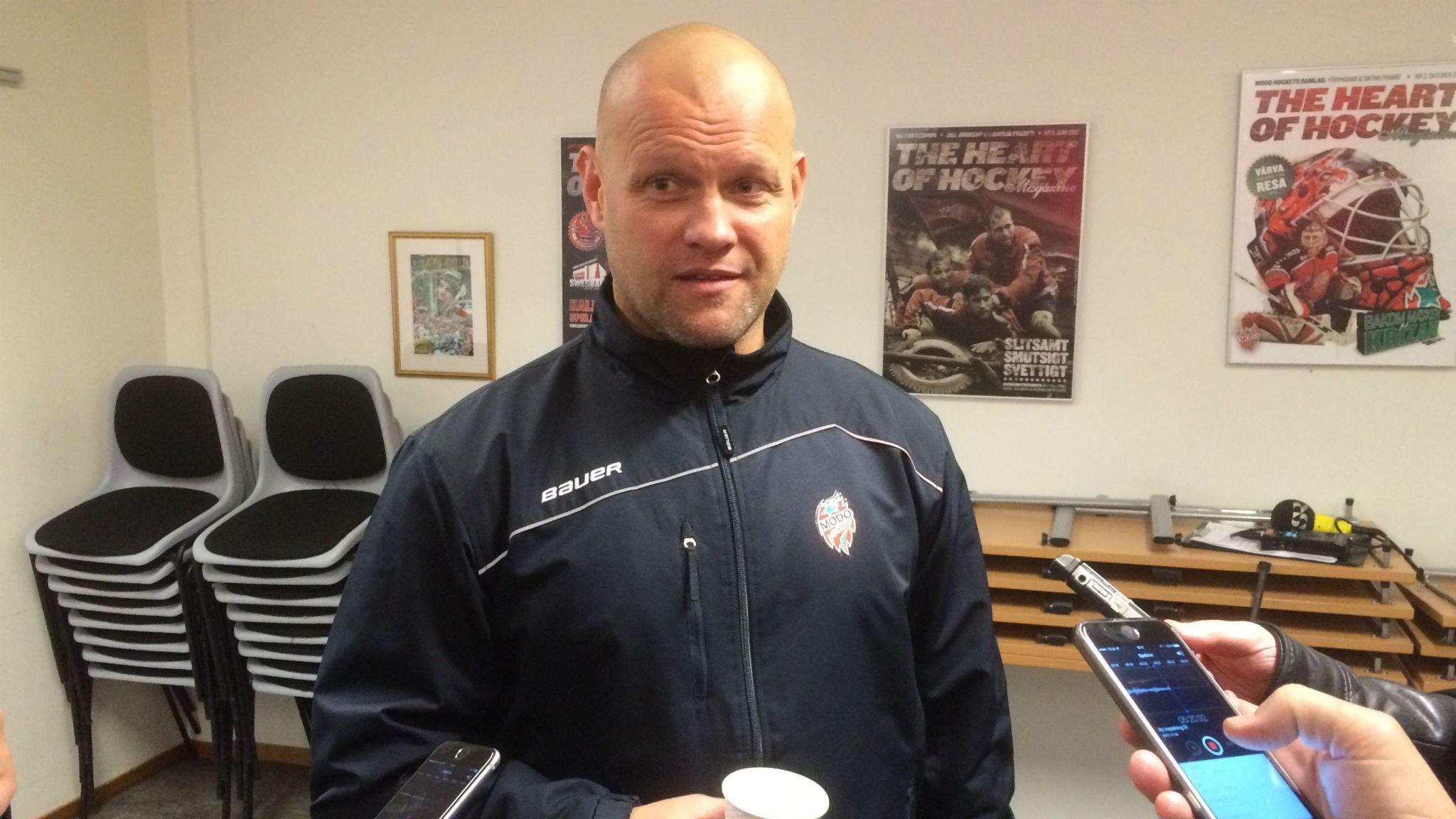 Modos tränarkarusell & frågestund med SHL-sportchefen Hemlin