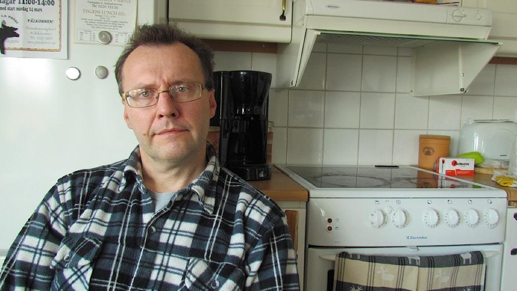 För Greger Thorsén fick den utdragna rättsprocessen stora konsekvenser. Foto: Helena Lund/Sveriges Radio.