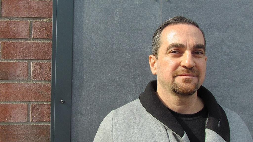 Hany Zenal, kriminalvårdare på Salberga.