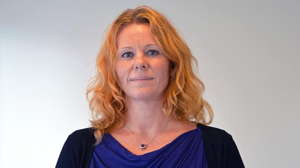 Maria Andersson Liljedahl (SD). Foto: Eva Kleppe/Sveriges Radio.
