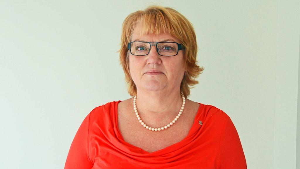 Birgitta Andersson (C). Foto: Eva Kleppe/Sveriges Radio.