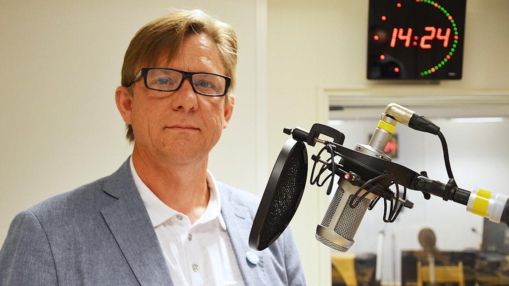 Staffan Strid (M). Foto: Eva Kleppe/Sveriges Radio.