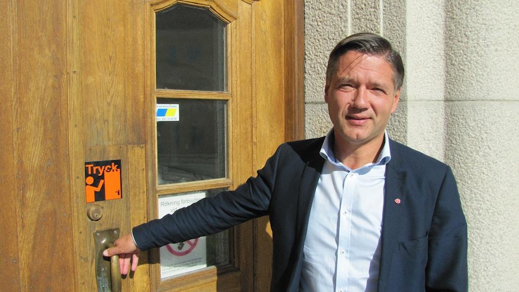 Kenneth Östberg. Foto: Inga Korsbäck/Sveriges Radio.