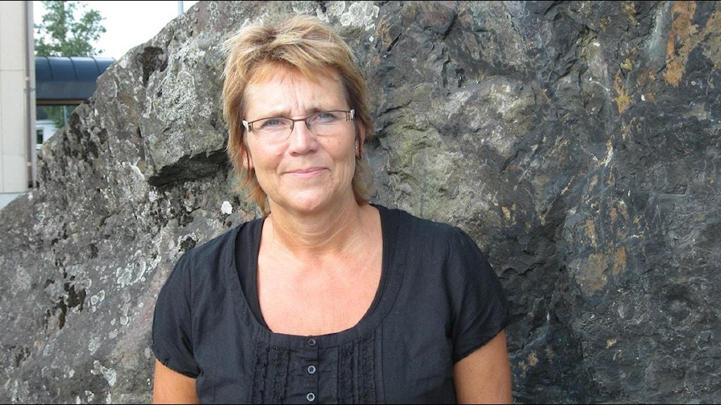 Margaretha Widén-Berggren. Foto: Astrid Iselidh/SR