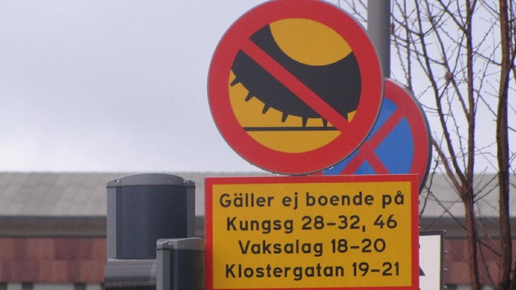 Dubbdäcksförbud i stockholm