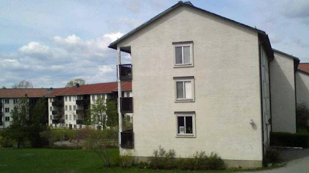 Studentbostäder på Rackarberget i Uppsala. Foto: August Bergkvist / SR