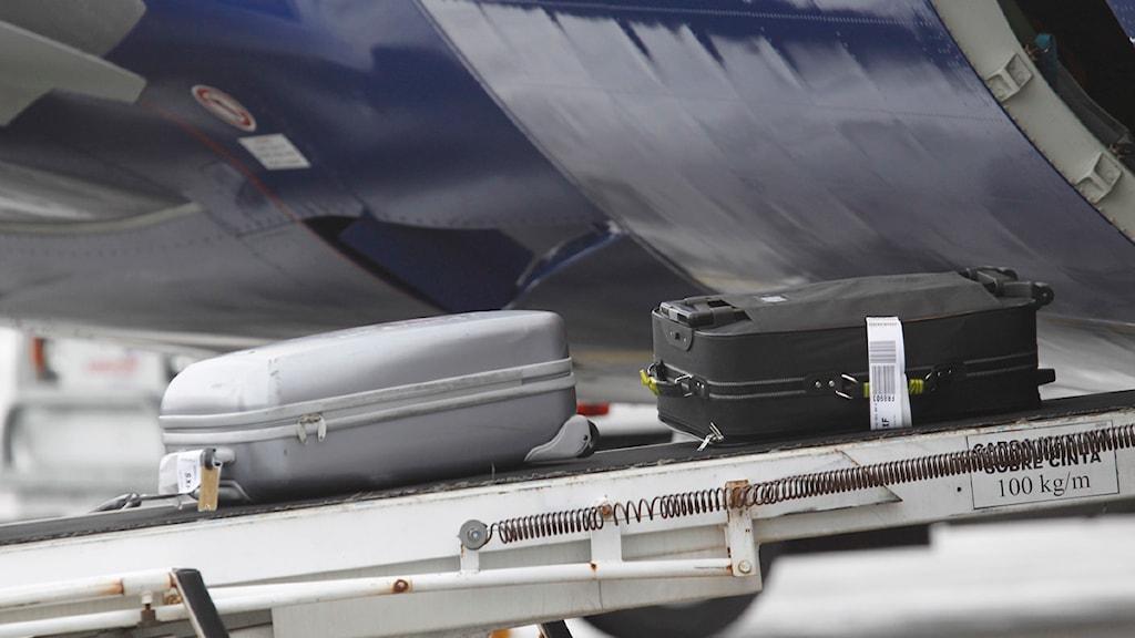Kasta Väskor På Arlanda : Bagagesystem byggs om p uppland sveriges radio