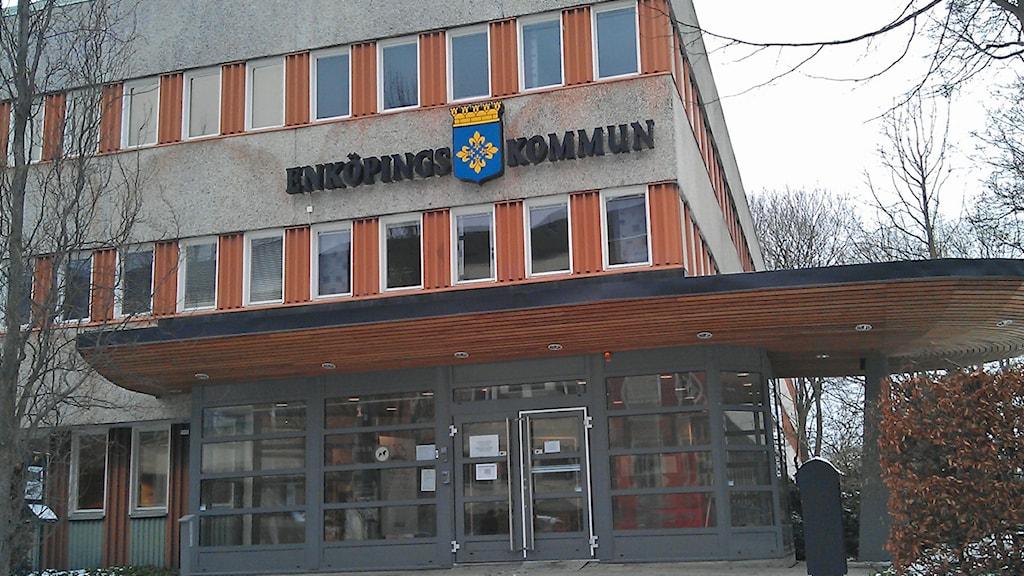 Enköpings kommunhus. Foto: August Bergkvist / SR