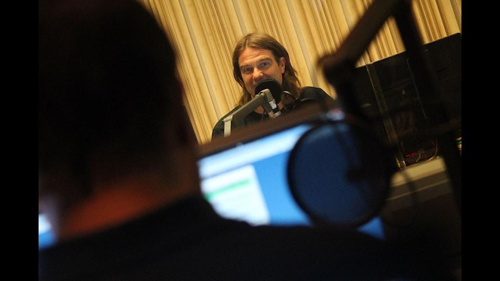 Peje Johansson programleder nästa vecka. Foto: Emma Kvennberg/Sveriges Radio