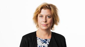 Katja Magnusson. Sveriges Radios korrespondent Istanbul. Utrikeskorrespondent. foto: Mattias Ahlm/Sveriges Radio