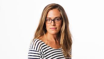 Lotten Collin. Sveriges Radios korrespondent Rio de Janeiro. Utrikeskorrespondent. foto: Mattias Ahlm/Sveriges Radio