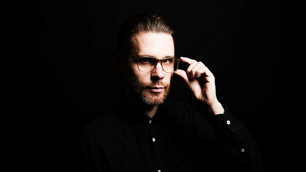 Elektroniskt i P2. Mats Almegård. Sveriges Radio P2. foto: Mattias Ahlm/Sveriges Radio
