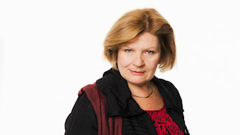 Cecilia Uddén. Sveriges Radios utrikeskorrespondent i Kairo, Egypten.  Sveriges Radio. foto: Mattias Ahlm/Sveriges Radio