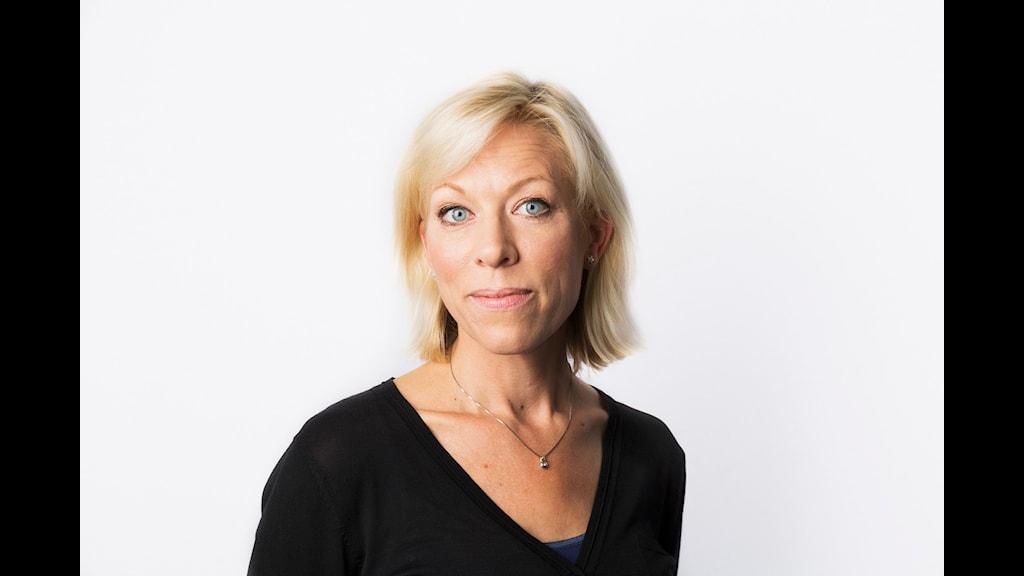 Ginna Lindberg. Sveriges Radio Ekot.  Foto: Mattias Ahlm/Sveriges Radio