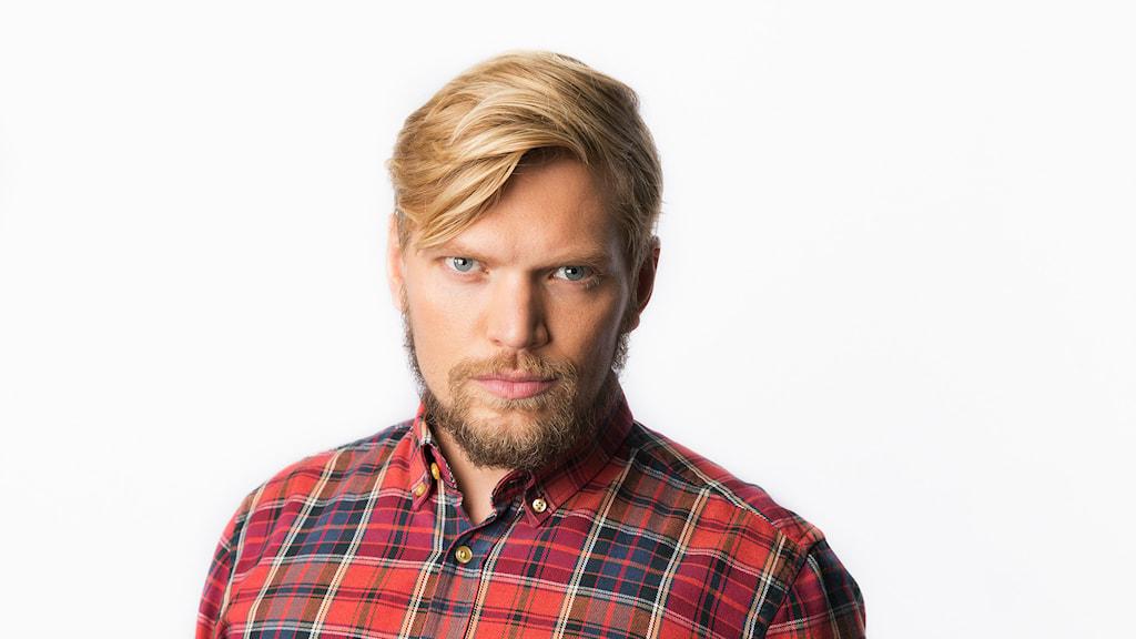 Henrik Torehammar. Sveriges Radio. Korrarna på Södran. Foto: Mattias Ahlm/Sveriges Radio