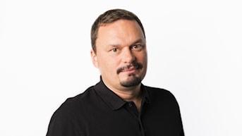 Roger Wilson. Sveriges Radios korrespondent Kultur. Sveriges Radio Ekot. Foto: Mattias Ahlm/Sveriges Radio